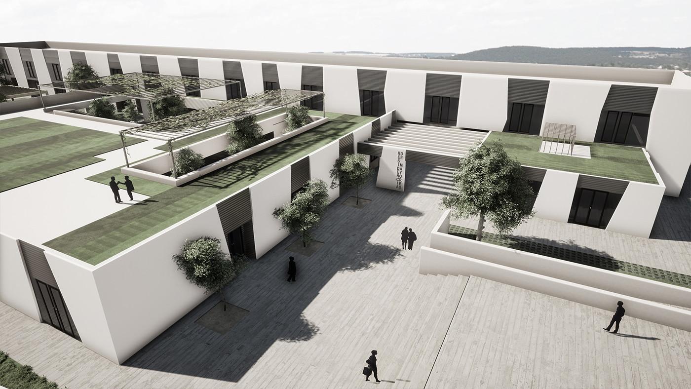 Acota Arquitectura_centro dia Llerena 1